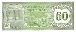 ARUBA  P. 4 50 F 1986 UNC - Aruba (1986-...)