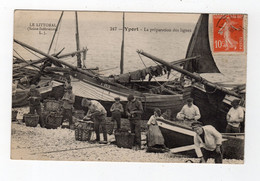 Oct 20    7689088   Yport   La Préparation Des Lignes - Fécamp