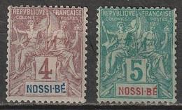 Nossi-Bé N° 29, 30 * - Ongebruikt