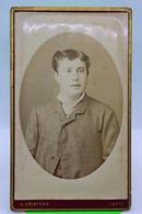380 - CDV - Photo - Portrait Jeune Homme - H. Griottier  - Cette (Hérault) - Oud (voor 1900)