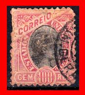 """BRASIL SELLO AÑO 1894 SERIE DE USO  CORRIENTE """"DENTADO"""" -USADO - Brésil"""