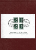 B7-Allemagne III REICH-1937 Bloc Numéro 9 Non Dentelé Oblitéré BERLIN W 62 Du 16-04-1937 - Blokken