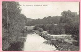Le Barrage Au Moulin De Walzin - 1911 - Dinant