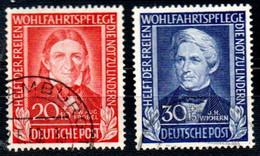 Bundesrepublik 117-120, Gestempelt, Deutschland Germany Allemagne - Oblitérés