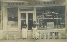 Maison DAVID Beurre Oeufs Fromage    CARTE PHOTO A Identifier - Situer - Da Identificare