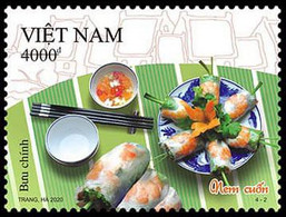 Vietnam Viet Nam Booklet Type 2 - Issued On 10 Oct 2020 : Vietnamese Cuisine / Food (Ms1133) - Vietnam