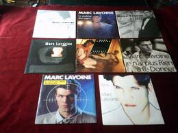 MARC  LAVOINE °° COLLECTION DE 8  /  45  TOURS  DIFFERENTS - Volledige Verzamelingen