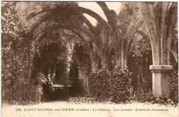 51by 1141 CPA - SAINT MICHEL EN L'HERM - LES CHATEAU - LES ARCADES - Saint Michel En L'Herm