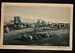 A26 MAROC CPA CASABLANCA LA PLACE DE FRANCE EN 1888 - Other