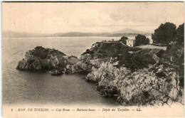 51gl 343 CPA - ENVIRONS DE TOULON - CAP BRUN - Toulon