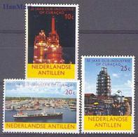 Netherlands Antilles 1965 Mi 149-151 MNH ( ZS2 DTA149-151 ) - Fabrieken En Industrieën