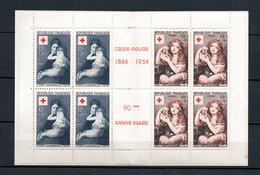 M18 France Carnet Croix Rouge N° 2003 (1954)  ** Complet 10% De La Côte. A Saisir !!! - Croix Rouge
