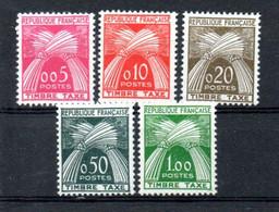 K23 France Beau Taxe  N° 90 à 94 ** à 10% De La Côte . A Saisir !!! - 1859-1955.. Ungebraucht