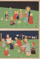 Illustrateur - James PENNYLESS - Lot De 4 CPSM - Pennyless, James