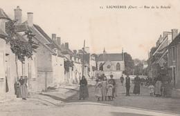CARTE POSTALE   LIGNIERES 18  Rue De La Ralerie - Sonstige Gemeinden