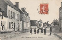 CARTE POSTALE   LIGNIERES 18  Route De La Châtre - Sonstige Gemeinden