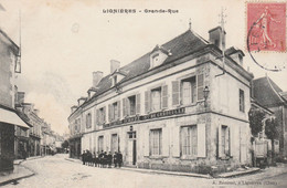 CARTE POSTALE   LIGNIERES 18  Grande Rue - Sonstige Gemeinden