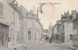 CARTE POSTALE   LIGNIERES 18   Rue Du Marché - Sonstige Gemeinden