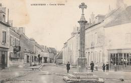 CARTE POSTALE   LIGNIERES 18   Croix Verte - Sonstige Gemeinden