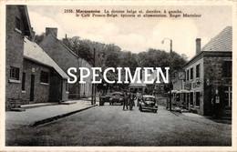2558 La Douane Belge Et Derrière à Gauche Le Café Franco-Belge - Macquenoise - Momignies