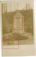Carte Photo.Ardennen Meuse.(3-3)Argonnen Cimentiere Minenwerfer Kompanie Nr.34 (Einh.Metz)? Allemande. Guerre 14-18.WWI - 1914-18