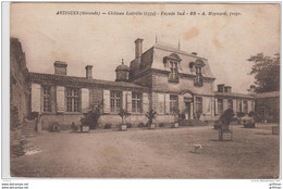 ARTIGUES CHATEAU LESTRILLE FACADE SUD A. MEYNARD PROPRIETAIRE TBE - Francia