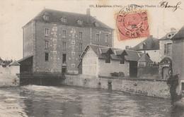 CARTE POSTALE   LIGNIERES 18   Les Grands Moulins - Sonstige Gemeinden