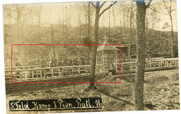 Carte Photo.Ardennen Meuse.Argonnen Cimentiere Pionier Batl.Nr.16 Allemande. Guerre 14-18.WWI - 1914-18