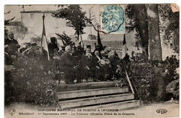 Brassac Concours 1907 Tribune Officielle Place De La Couarde - Frankreich