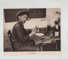 Un Gardian Attablé à Identifier 1935 - Sin Clasificación