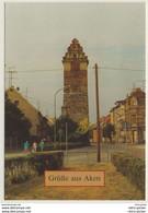 AK  Aken Elbe Köthener Turm _ Normalformat _Ansichtskarte - Aken