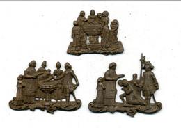 Médaille Ou Décoration (?) Ancienne (fin XIXème - Début XXème) / Mariage Et Baptème - Godsdienst & Esoterisme