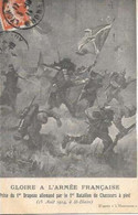Cpa 67 Saint Blaise La Roche , Ww1 , Prise Du 1° Drapeau Allemand , écrite 1914 - Patriotiques