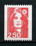 FRANCE 1991 N°  2719a ** Neuf MNH Superbe C 2 € Marianne Du Bicentenaire Provenant De Roulettes Numéro Rouge - Ongebruikt