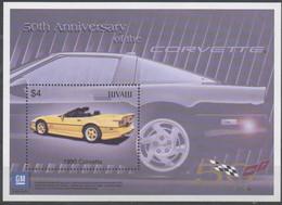 Anniversaire De La Corvette  - Anniversary Of The Cadillac 2003 XXX - Tuvalu