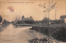 PAIZAY NAUDOUIN - Avenue De La Gare - Très Bon état - Sonstige Gemeinden