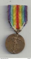 """Médaille République Française: """"La Grande Guerre Pour La Civilisation"""" 1914 - 1918 : Dans Sa Boite Dorigine - France"""