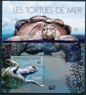 [32529]SUP//**/Mnh-c:17e-BURUNDI 2012 - Les Tortues Marines, Faune Marine - Tartarughe