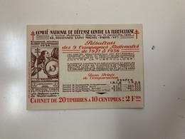 ANTITUBERCULEUX TUNISIE Texte En Arabe 1936 Timbres Parfaits. Gomme Parfaite** 5 Scans TIMBRES SÉPARÉS DU CARNET - Tegen Tuberculose