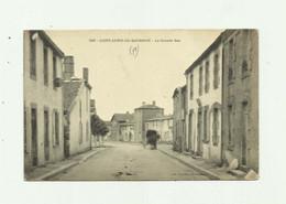 79 - SAINT AUBIN DE BAUBIGNE - La Grande Rue Attelage Tres Leger Pli Bas Sinon Bon Voir Scan - Otros Municipios