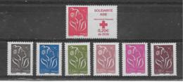 FRANCE - Yvert   N° 3745 Et 3754 à 3759 ** - 2004-08 Marianna Di Lamouche