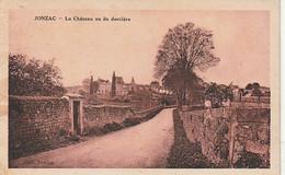 *** 17 *** JONZAC  Le Château Vu De Derriere - Petit Pli Angle - Other Municipalities