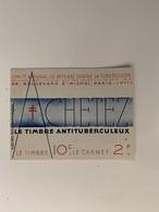 ANTITUBERCULEUX Pour L'INDOCHINE 1935 Deux Sous Agrafe Et Papier Sulfurisé  Timbres Parfaits. Gomme Parfaite** 7 Scans - Tegen Tuberculose