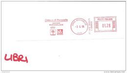 ITALIA - 2006 Comuni D'Italia: MARANELLO (MO) Giugno Maranellese - Stemma: ALBERO (PERO) - Ema Affranc.mecc. Red Meter - Marcophilie - EMA (Empreintes Machines)