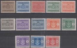 Italia Segnatasse 1945 SaN°73-85 13v Cpl MNH/** Vedere Scansione - Segnatasse