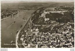 AK Koblenz Am Rhein Luftaufnahme Teil Der Stadt Und Festung Ehrenbreitenstein - Non Classificati