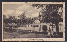Ansichtskarte Gnetsch Sachsen Anhalt Bei  Köthen Teich Kirche  - Deutschland
