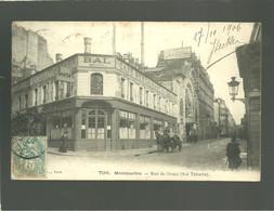 75 Paris Montmartre Rue De Douai Bal Tabarin  édit. ? N° 796 Café Restaurant - Distrito: 18