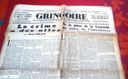 Gringoire 13 Mars 1942 Journal Collaborationniste Et Antisémite La Guerre Paris Bombardé Caricatures Léon Blum - Altri