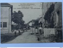 SCEY EN VARAIS Scey Maisières Vallée De La Loue Doubs - Rue Principale - Frankrijk